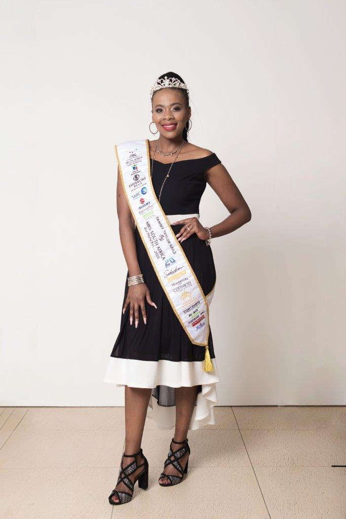 Olwethu Nodada Tammy Taylor Mrs South Africa 2nd Princess 2020