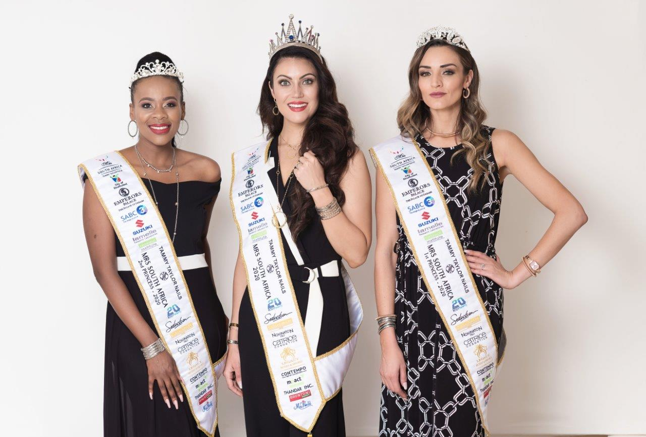 Tammy Taylor Mrs South Africa 2020 Top 3